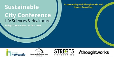 Sustainable City Conference - Life Sciences & Healthcare tickets