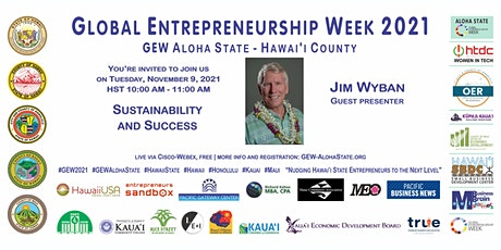 Sustainability and Success (GEW Aloha State - Hawai'i) tickets