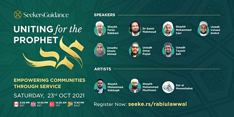Uniting for the Prophet: Empowering Communities through Service tickets