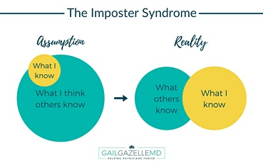 Everyone's a GENIUS, but me. Let's talk about Imposter Syndrome! Tickets