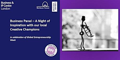 Creative Champions - A Night of Inspiration (Global Entrepreneurship Week) tickets