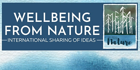 Wellbeing From Nature Webinar tickets