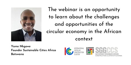 Opportunities for circularity in urban development in Africa tickets