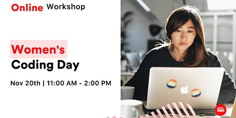 Women's Coding Day - Learn to code for free in November! tickets