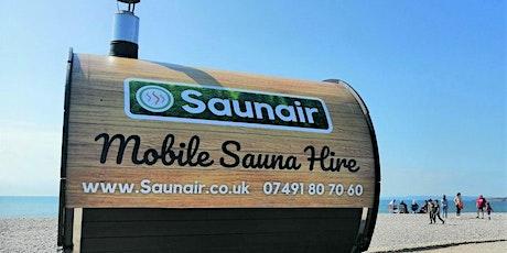 Seaside Sauna and hot drinks tickets