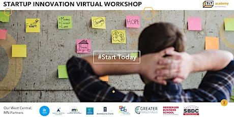 ILT Academy Startup Innovation Virtual Workshop Tickets
