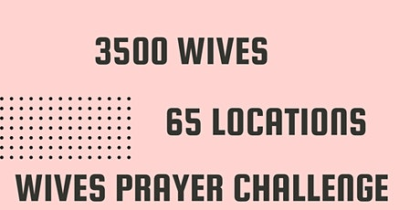 October 2021 Wives Prayer Challenge tickets