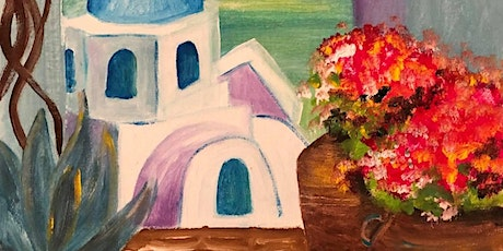 ONLINE Paint Along @ Home -- Holiday in Greece tickets