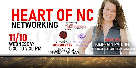 Heart of NC Rockstar Connect Networking Event (November, NC) tickets