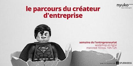 Le parcours du créateur d'entreprise : cadre réglementaire et étapes billets