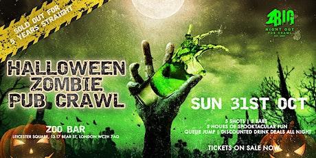 1BNO - ZOMBIE HALLOWEEN PUB CRAWL (SUNDAY 31ST OCTOBER) tickets