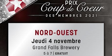 Prix Coup de cœur du Nord-Ouest tickets