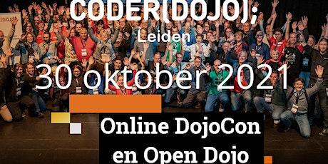 CoderDojo Leiden #81 | DojoCon & Open Dojo tickets