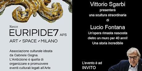 Vittorio Sgarbi presenta un'opera di Lucio Fontana tickets