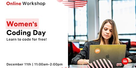 Women's Coding Day - Learn to code for free online! tickets