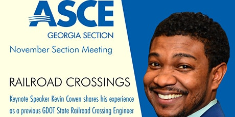 Railroad Crossings -ASCEGA November Section Meeting (Zoom Attendee) tickets