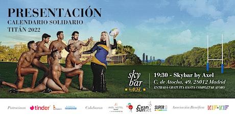 Presentación Calendario Solidario Titán 2022 entradas