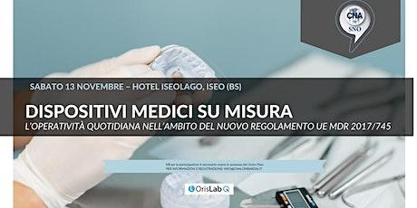 Dispositivi medici su misura: nuovo regolamento UE e operatività quotidiana biglietti