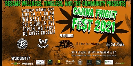 Canna Fright Fest tickets