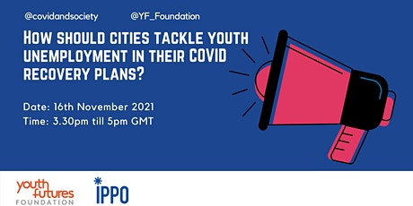 How should cities tackle youth unemployment in their COVID recovery plans? tickets