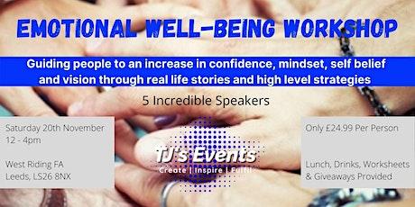 Emotional Well-Being Workshop tickets
