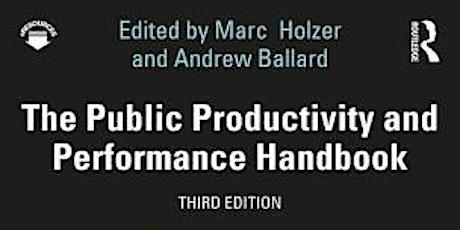 MassASPA Book Talks: The Public Productivity and Performance Handbook tickets