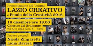 Presentazione del volume Lazio Creativo e Fondo della...