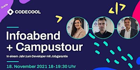 Infoabend + Campustour: In einem Jahr zum Developer mit Jobgarantie Tickets