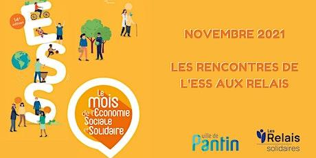 """Mois de l'ESS aux Relais : Lancement de """"Tech for life Hub"""" billets"""