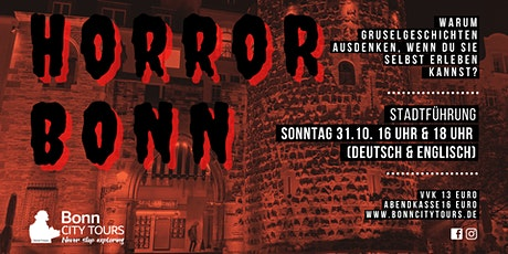 Halloween Spezial Bonn Tickets