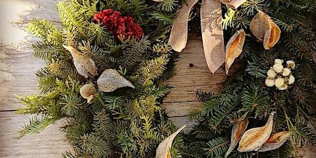 Créez votre propre couronne de saison/ Create your own seasonal wreath tickets