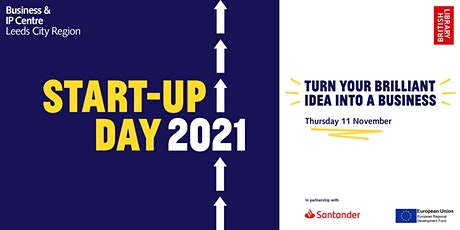 Start-up Day 2021 with the Business & IP Centre Leeds: morning session tickets