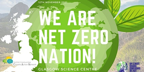 We Are Net Zero Nation! at COP26 Glasgow tickets