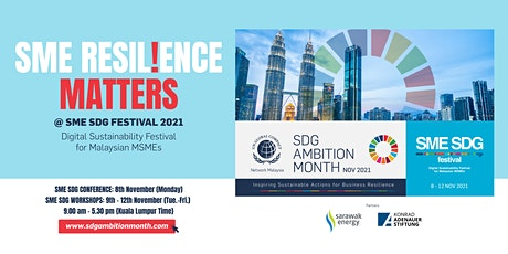 Building Business Resilience Through Prioritised SDGs tickets