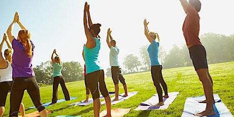 Yoga outdoor class tickets