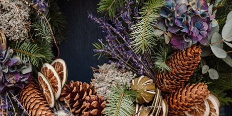 Luxury Wreath making Workshop with The Real Flower Company tickets