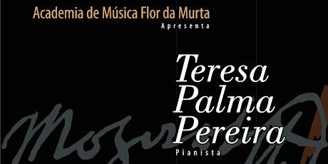 Cine Teatro de Almeirim recebe Teresa da Palma Pereira bilhetes