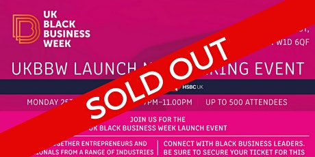 UK Black Business Week Launch Event tickets