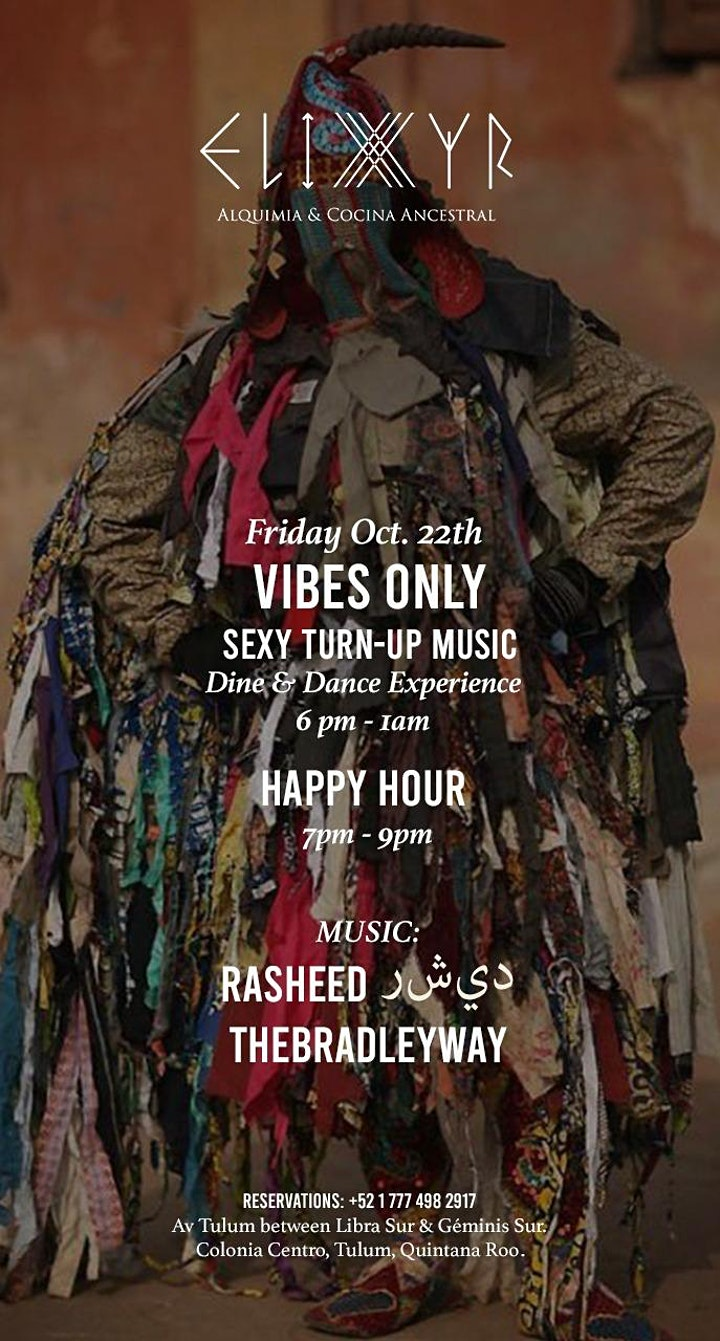 Vibes Only Tulum ⦿ Friday Night ⦿ Sexy Turn-Up Music ⦿ image