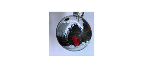 Holiday Glass Ornament Making tickets
