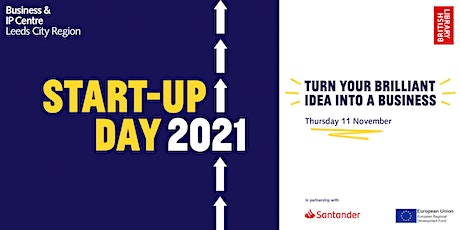 Start-up Day 2021 with the Business & IP Centre Leeds: afternoon session tickets