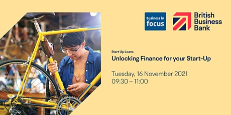 Unlocking Finance for your Start-Up tickets