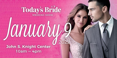 Today's Bride January 9th Akron Bridal Show tickets