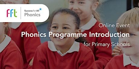 SfA - Phonics Programme Introduction tickets