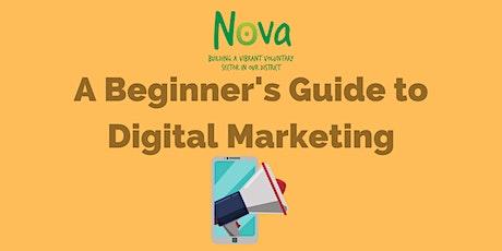 A Beginner's Guide to Digital Marketing tickets