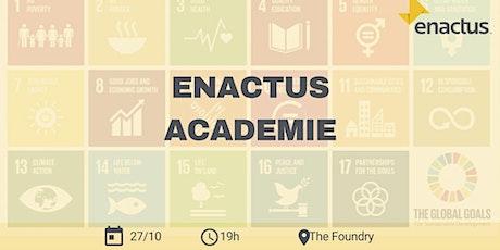 Enactus academie: Docu-night billets