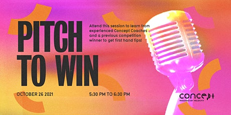 F21: Pitch to Win tickets