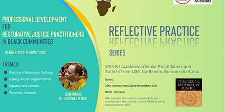 Reflective Practice for Africa and diaspora RJ Practitioners. tickets
