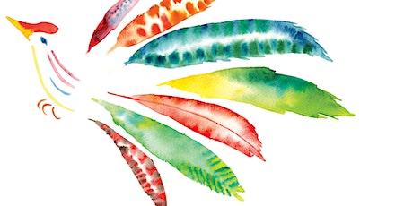 Watercolour Birds (online class) tickets