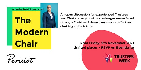 The Modern Chair: what does being a Chair mean in a post-covid world? tickets